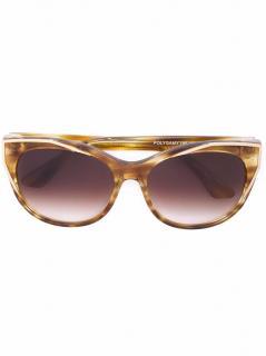 THIERRY LASRY Polygamy oversized cat-eye sunglasses