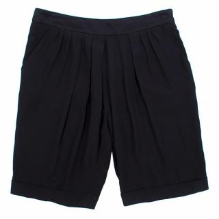 Maje silk shorts