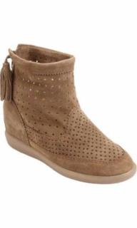 ISABEL MARANT camel Beslay suede ankle boots