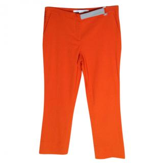 DVF Orange Trousers