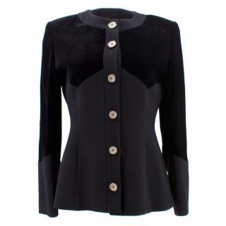 Valentino Black Velvet Jacket