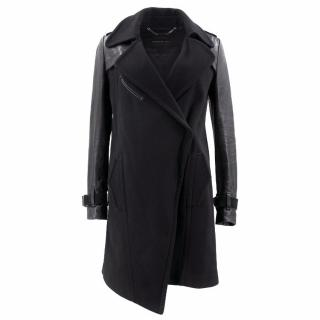 Barbara Bui Lamb Trench Coat