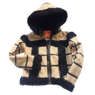MANOUSH suede biker style jacket