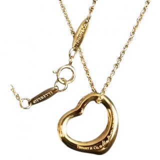 Tiffany & Co 18k Gold Open Heart