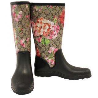 GUCCI Prato Gg Blooms Rain Boot