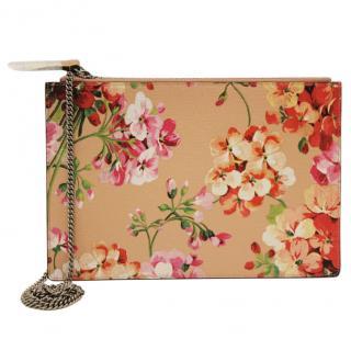 GUCCI Blooms Chain Bag Peach/Blush