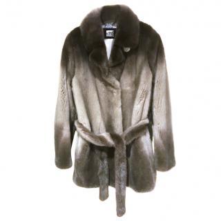 Denmark Male Silver mink jacket