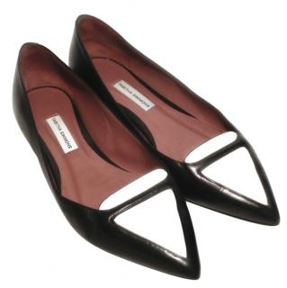 Tabitha Simmons pointy flat loafers