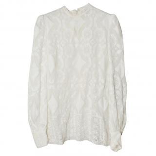 Hillier Bartley Victorian lace blouse