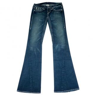 True Religion Crystal Buttons Jeans NEW