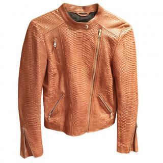 701159c773 Vasilisa Python Beige Jacket XS