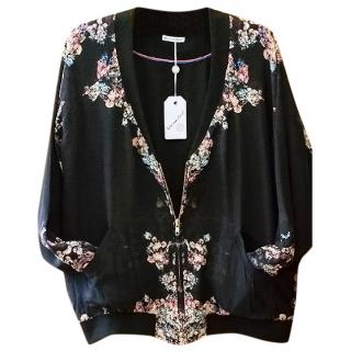 Lily&Lionel silk bomber jacket