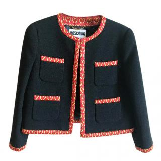 Moschino Couture wool jacket