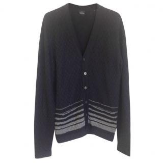 Paul Smith merino men's wool cardigan