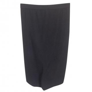 T by Alexander Wang black stretchy skirt