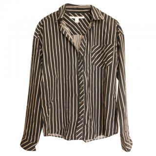 Diane Von Furstenberg Silk Printed Shirt