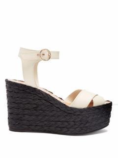 Valentino Nuevtias Wedge Sandals EU 35.5 /UK 2.5 Unworn