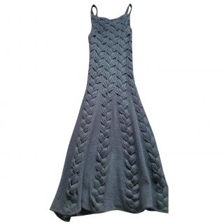 Emporio Armani Wool mid-length dress
