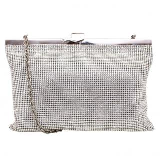 Dolce and Gabbana Silver chainmail clutch