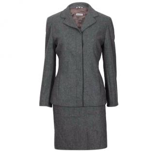 Max&co By MaxMara Grey Skirt Suit