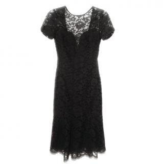 Burebery Prosum Black lace cocktail dress