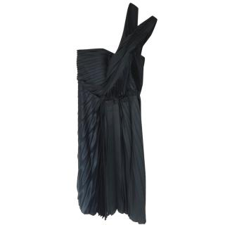 Cedric Charlier One Shoulder Party Dress