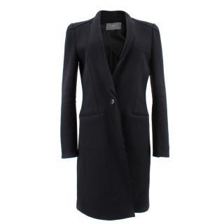 Mcq Alexander McQueen Black Virgin Wool Coat