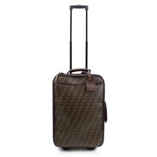 Fendi Zucca Canvas Suitcase