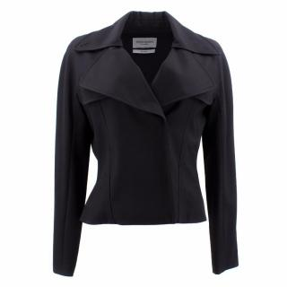 YSL Black Double Breasted Wool Jacket