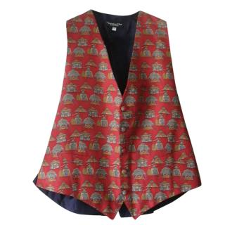 Christian Dior Silk Waistcoat