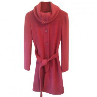 Tocca Fuschia Wool Blend Coat