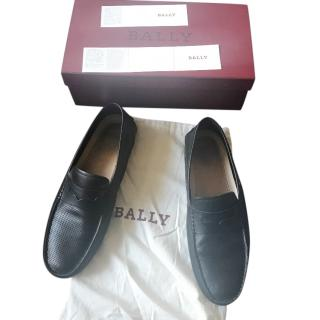 Bally calf leather driver