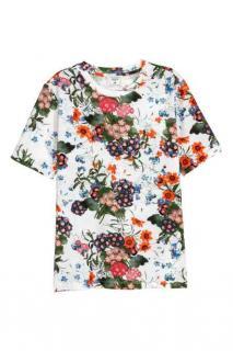 Erdem X H &M floral t-shirt