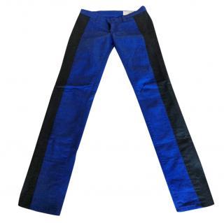 Rag & Bone Blue stripe detail Jeans