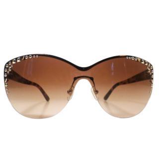 Versace Pale Gold Sunglasses