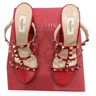 Valentino Garavani Red Rockstud Sandals