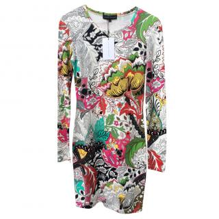 Jonathan Saunders Printed Stretch Jersey Dress