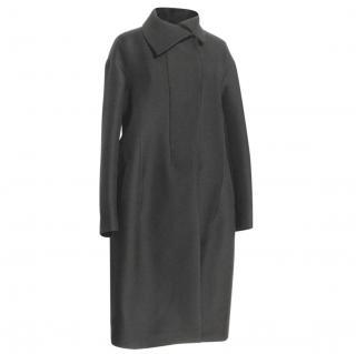 JIL SANDER black coat, size 40 Immaculate