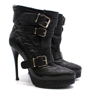 Burberry Fall 2010 Aviator Ankle Boots
