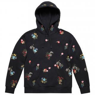 Erdem X H&M Black Floral Hoodie