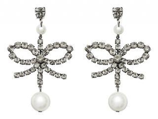 Erdem X H&M crystal earrings