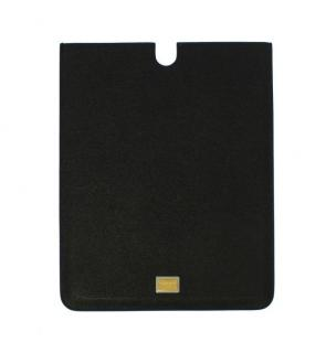 Dolce & Gabbana Black Leather iPad Tablet Cover