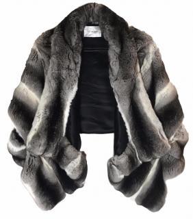 Yves Salomon Chinchilla Fur Jacket