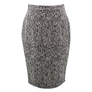 Lanvin Tweed Pencil Skirt