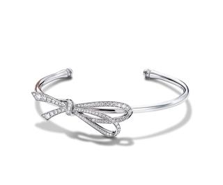 Tiffany & Co Diamond Bow Cuff