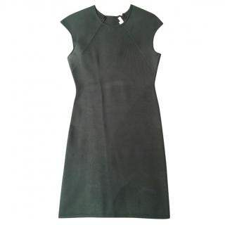 Alexander Wang fitted green dress