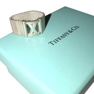 Tiffany & Co Atlas Collection Mesh Ring