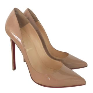 Christian Louboutin Nude Patet Pigalle Pumps