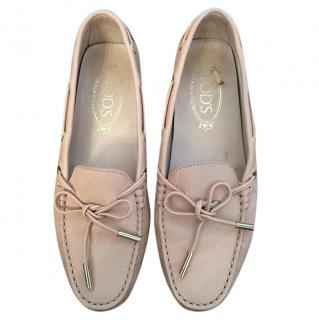TOD'S GOMMINO Pink Loafers