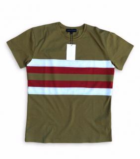 Jonathan Saunders Striped Cotton T-Shirt
